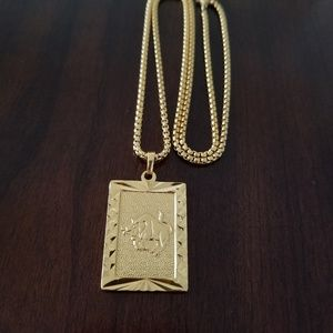 Other - Taurus Zodiac Sign 18K Gold Filled Necklace